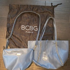 BCBG Large Tote, Cross body, and dust bag